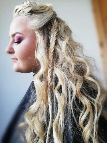 Viking Inspired Braids, festival Hair