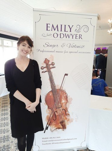 Female Wedding Ceremony Singers - Emily O'Dwyer Singer and Violinist