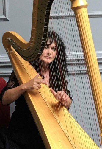 Female Wedding Ceremony Singers - FIONNUALA MONKS - Harpist & Singer