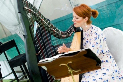 Female Wedding Ceremony Singers - Orla Fallon Harpist and Singer