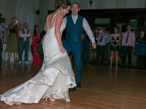 first dance springfort hall hotel Co.Cork