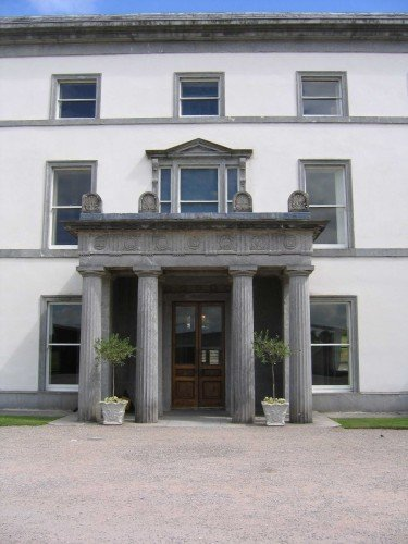 The Grand Bridal entrance was constructed of Blue Limestone from County Kilkenny