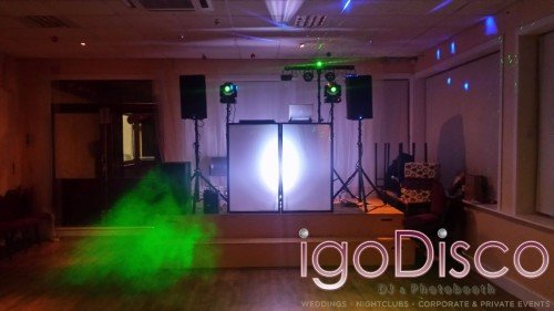 igoDisco.ie equipment setup for Mayo University Hospital,Castlebar Staff Christmas Party #2