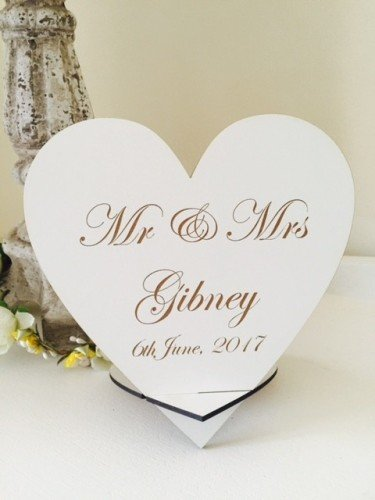 Top Table Personalised Wedding Sign