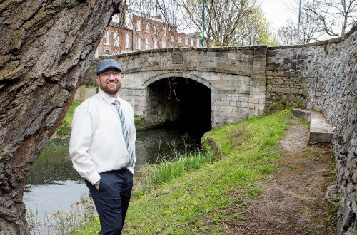 Groom by Canal