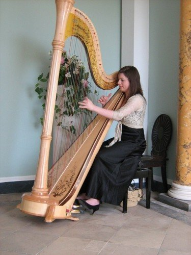 Set the tone with some classical harp