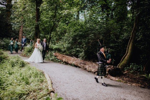 Palace Ruins Woodland Wedding Venue - Ballyscullion Park