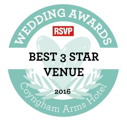 Conyngham Arms wins Best 3 Star Wedding Venue in RSVP Awards