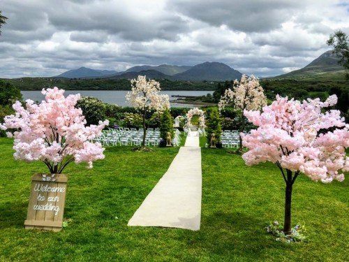 Outdoor Ceremony - Audrey's Wedding Occasions