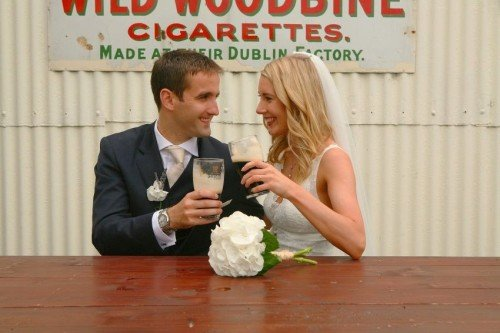 carol dunne photography wedding photography couple bride and groom happy love relaxed natural documentary photography pint pub just married