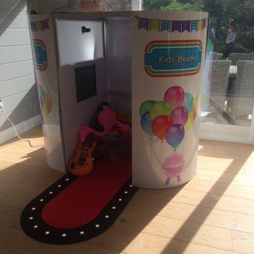 "Candylady ""New Childrens Photo Booth"" www.candylady.ie"