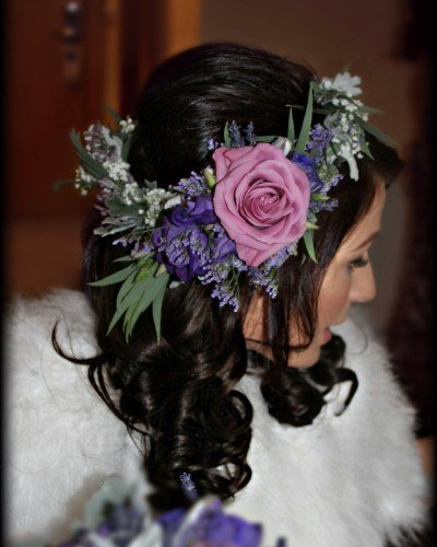 boho bridal flower crown
