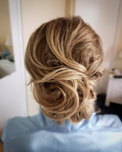 bridal Hairstyle bun