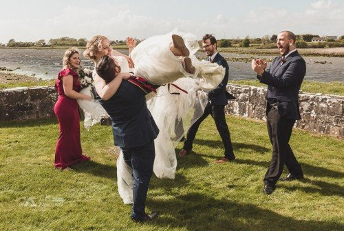 Kilcolgan Castle Wedding Photographer