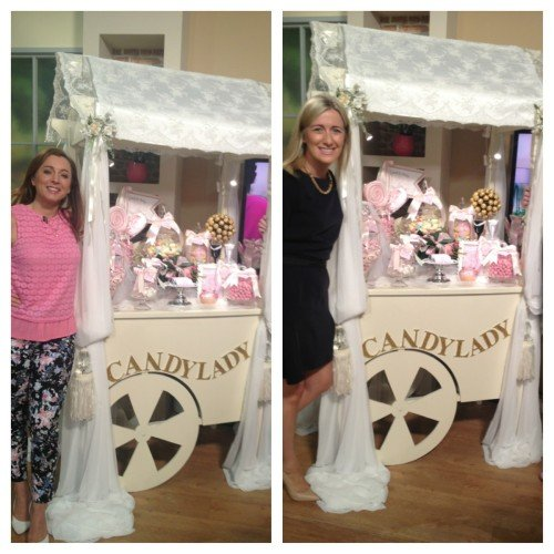 Candylady - Featured on Ireland AM 2015 Wedding Guide. www.candylady.ie