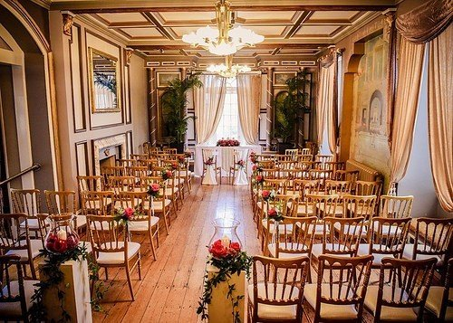 Indoor Ceremony Garden Room