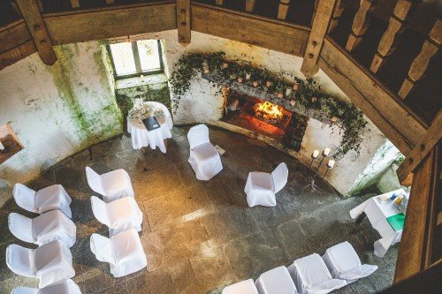 Irish Castle Elopement Wedding