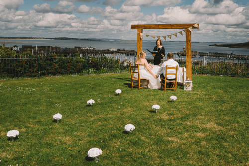 Jennifer & Kyle's Howth Elopement