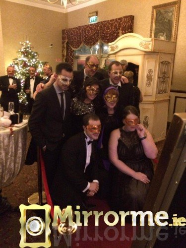 Mirrorme.ie at JTI Staff Christmas Party at the 5* Heritage Killenard Hotel