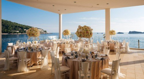 Elegant Wedding Reception Dubrovnik