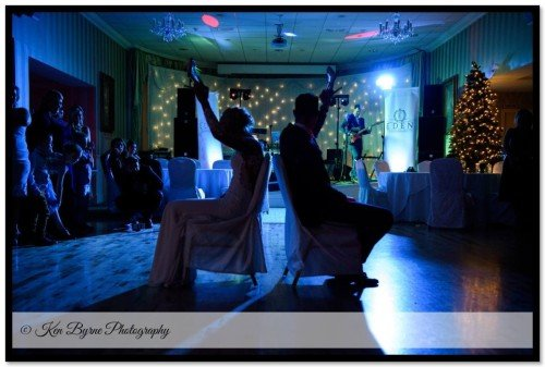 Documentary Evening party wedding photography of the Bride and groom Bloomfield House Hotel, Belvedere, Mullingar, Co. Westmeath