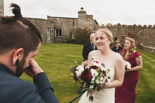 Kilcolgan Castle Wedding