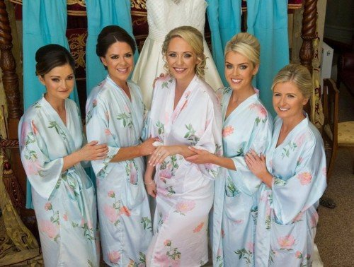 Niamh & her gorgeous Bridesmaids