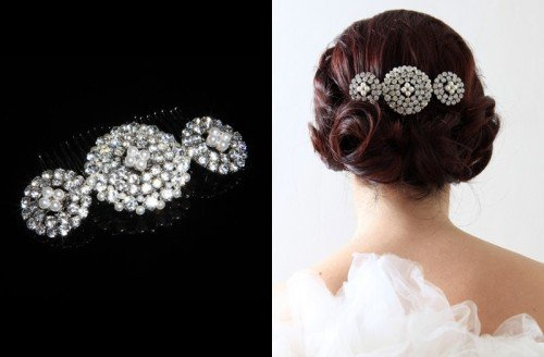 Jewellery - Tiaras & Veils - Bride & Bridal Party Accessories - Vintage Bridal Wear | Twice As Nice