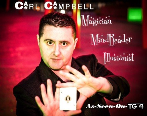 Magicians - Carl Campbell Wedding Magician