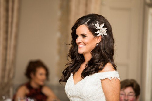 elegant bridal Hairstyle down