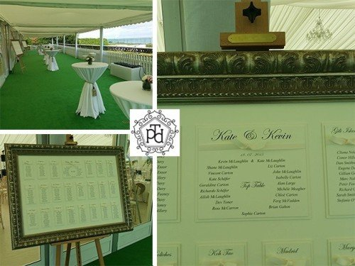 Marquee Wedding Table Plan
