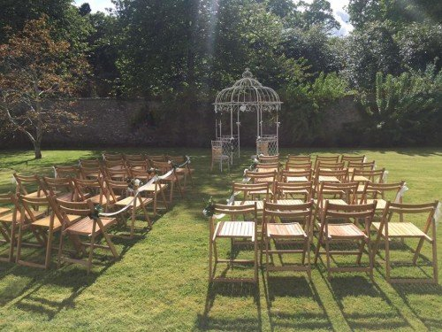 Martinstown House Country House - Garden Ceremony
