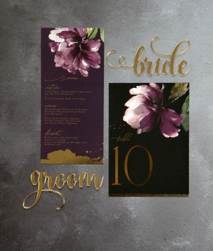Menu acrylic laser cut mirror wedding luxury Laser cut glitter invitation -Wedding Invitations - Mass Booklets - Calligraphers - Table Plan Designs