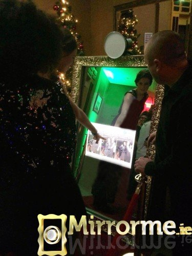 Mirrorme.ie at Microsoft Christmas Party Hilton Hotel Charlemount,Dublin