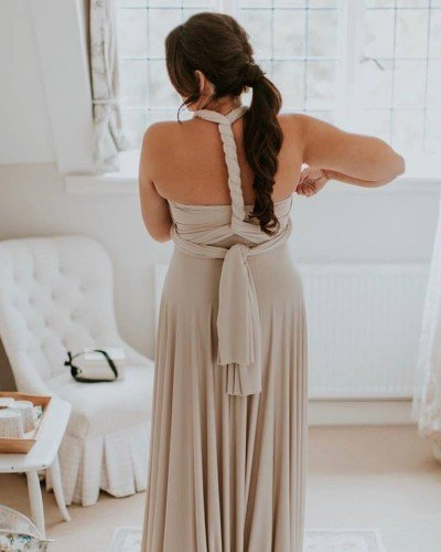 All Our Multiway bridesmaid dresses come with a FREE Bandeau