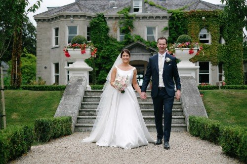 carol dunne photography wedding photography couple bride and groom happy love tinakilly house steps venue wicklow beautiful