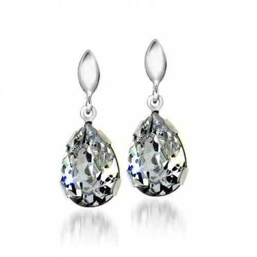 PEAR Drop Swarovski Crsytal Earrings