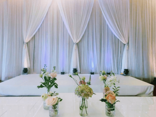 Room Draping - Audrey's Wedding Occasions