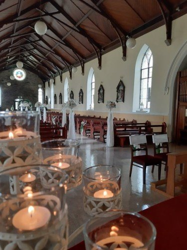 Pics of Emma & Austins wedding at St Nicholas of Myrna Dunlavin