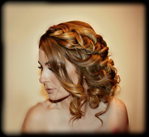boho braids bridal hair