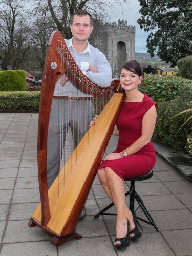 Pre-Dinner Music - Grainne and John Harpist and Wedding Singers