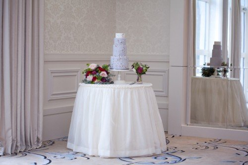 Primrose Lane Wedding Cake in Four Seasons Summer Suite