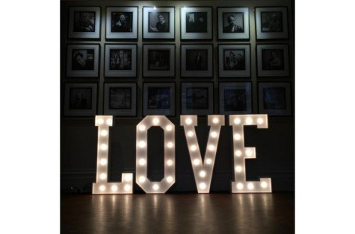 5 ft Love Sign - Audrey's Wedding Occasions