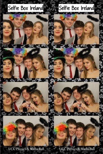 Selfie Booth Photo Strip