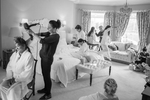 Simon Peare Wedding Photographer Dublin Ireland. www.simonpearephotography.com Bride Preparation