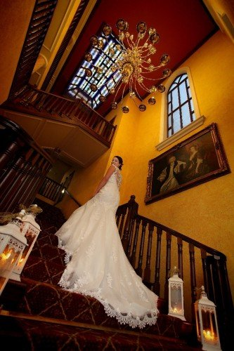 Grand Staircase and Stained Glass Window / Hotel Wedding Venues | Great National  Abbey Court Hotel, Lodges & Trinity Leisure Spa