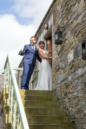 Staircase to bridal suite, Cliff at Lyons