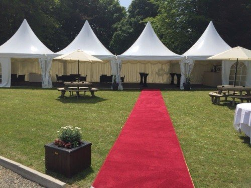 Summer Marquee at Faithlegg