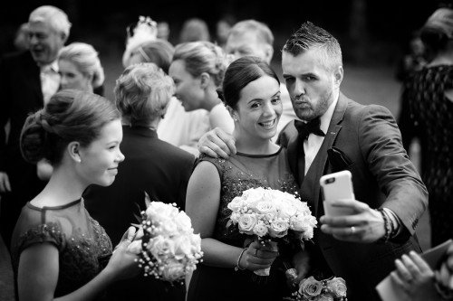 wedding, selfie, mohican, reportage, real wedding, selfie fun