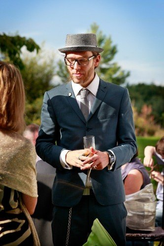 hipster wedding, creative types, Belinter House real wedding, Navan wedding, trendy guy at wedding, hip, cool